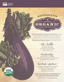 Fact Sheet: Assistance for Certified Organic Producers
