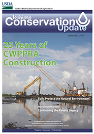 September 2015 Louisiana Conservation Update Cover