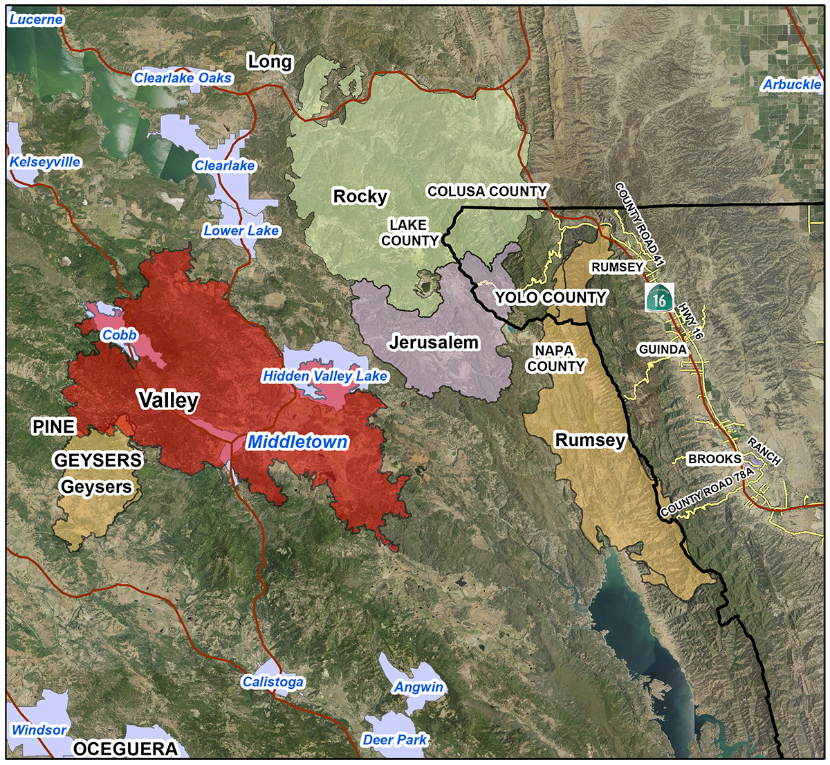 USDA California Agencies Offer Post Fire Assistance; Assessments