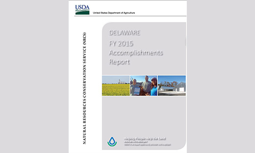 Report capturing achievements for FY 2015 in conjunction with our conservation partners.