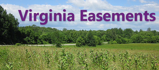 Virginia Easements Banner