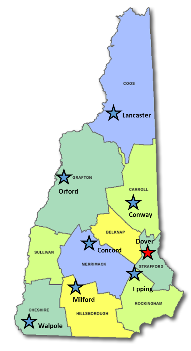 NH NRCS Office Map