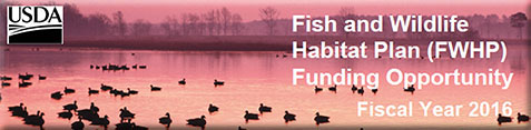 Fish and Wildlife Habitat Plan (FY16)