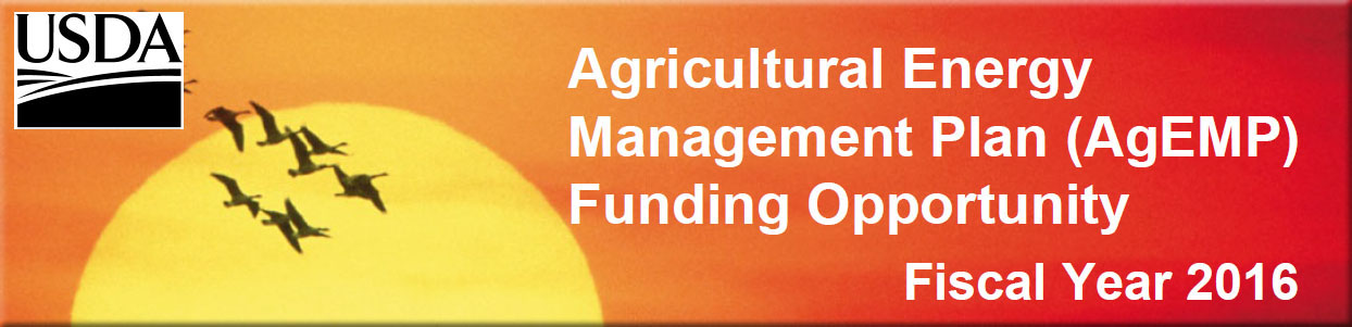Ag Energy Management Plan (FY16)