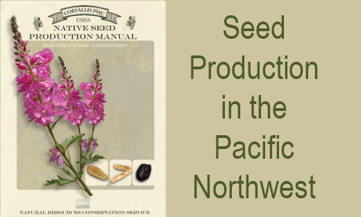 Image of the cover of the Native Seed Production Manual