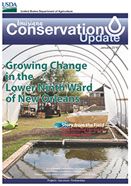 January 2016 Conservation Update Cover