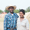 Ricky and Tiffanie Roddy started their farming operation with just 13 acres and have grown it 300.