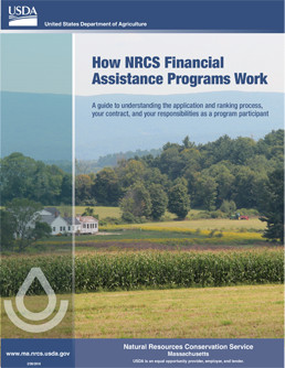 Thumbnail of How NRCS Financial Assistance Programs Work document. Click to access document.