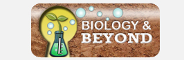 Biology and Beyond Button 1