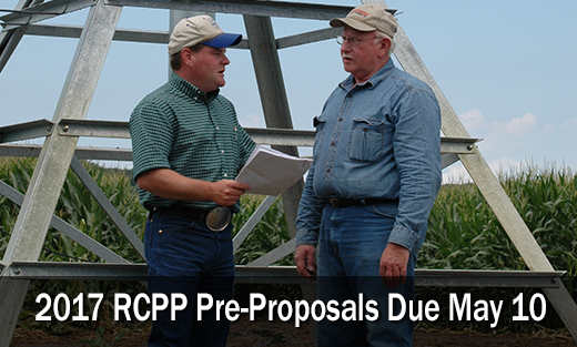NRCS is accepting Requests for Proposal through May 10 for the RCPP.