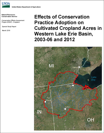 Western Lake Erie Basin report cover