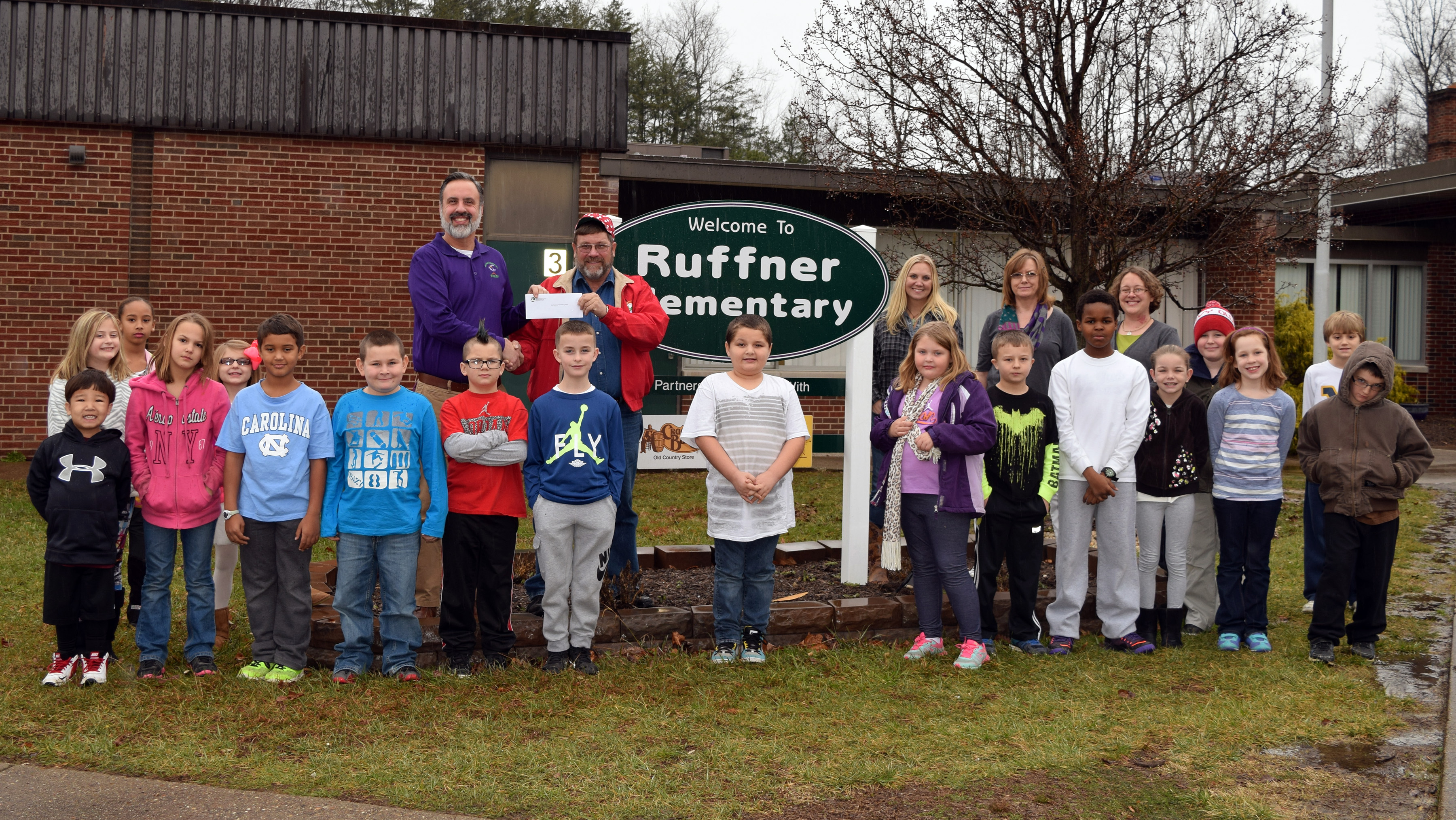 Kanawha County's Ruffner Elementary School receives funds for the Local Community Garden Project.