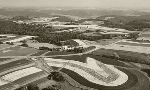 Photo of the Creeks in Coon Valley, Wisconsin in 1955