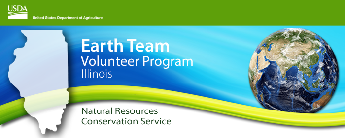 NRCS Earth Team Volunteer Program in Illinois