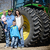 Farming is a family tradition for Todd Lynn Kimbrell, his wife, Lindsay, son Trey & daughter Tessa.