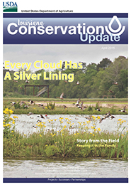 April 2016 Louisiana Conservation Update Cover