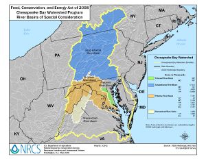 Chesapeake Bay Watershed Special Consideration Areas