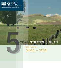 NRCS 2011-2015 Strategic Plan Cover