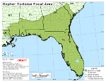 Thumbnail of Gopher Tortoise  focal area map