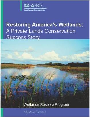 Restoring America's Wetlands publication.