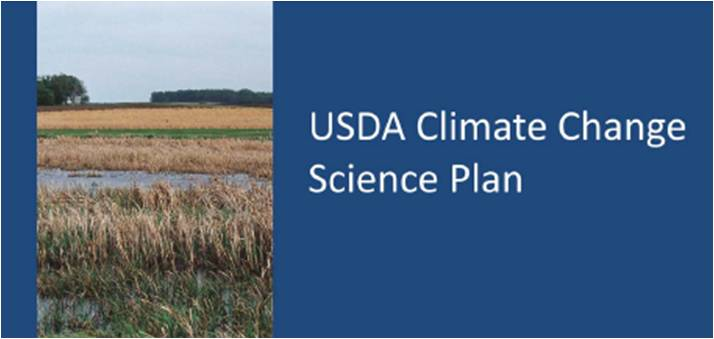 USDA Climate Change Science Plan