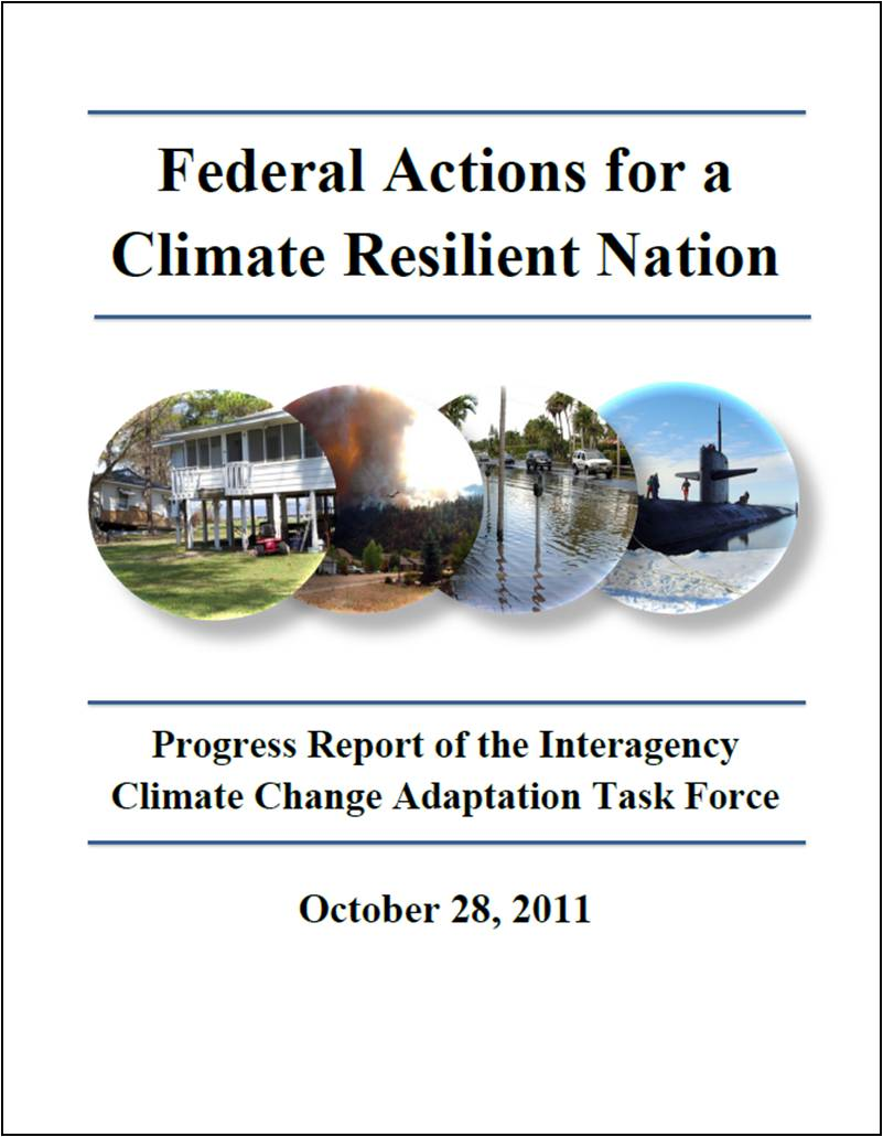 Federal Actions for a Climate Resilient Nation