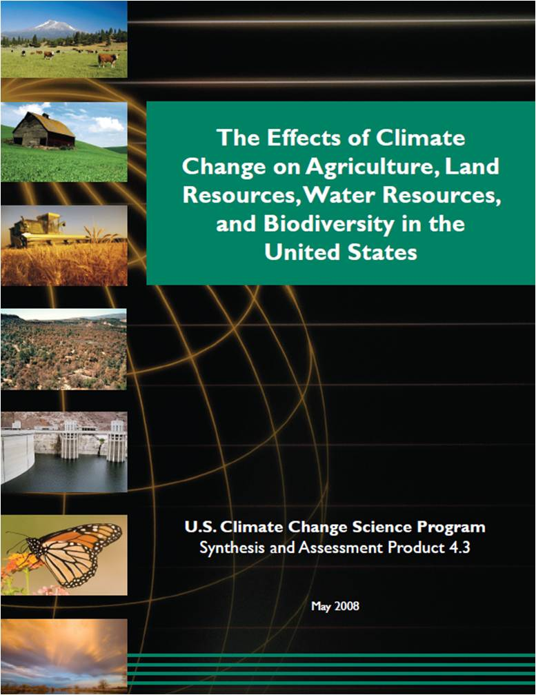 U.S. CCSP Synthesis and Assessment Product 4.3