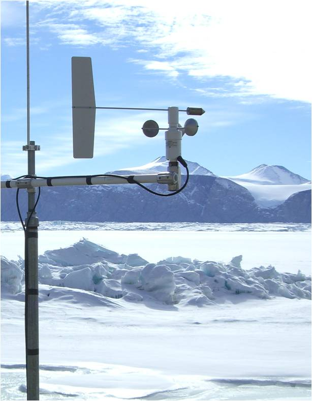 Soil climate monitoring station