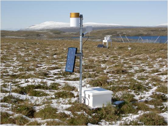Soil climate station in Alaska