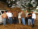 On-farm energy audit data collector trainees pose during April 25 certification workshop in Arecibo.