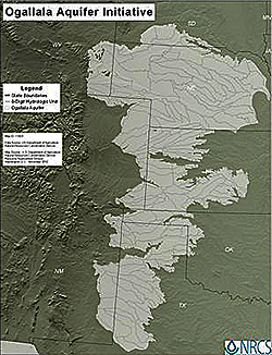 Ogallala Aquifer Initiative Map