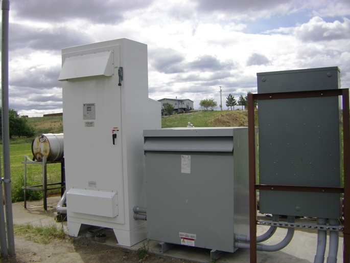 NRCS can help install special controls to help reduce farm energy needs.
