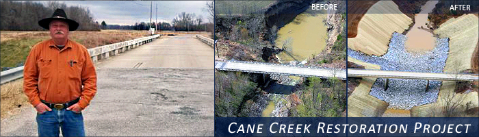 Cane Creek ARRA Project