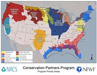 Conservation Partnership Program Map