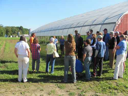 Conservation Partners on Tour in Lamoille County, Vermont