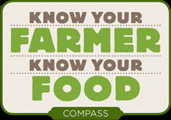 Know Your Farmer Know Your Food Compass logo