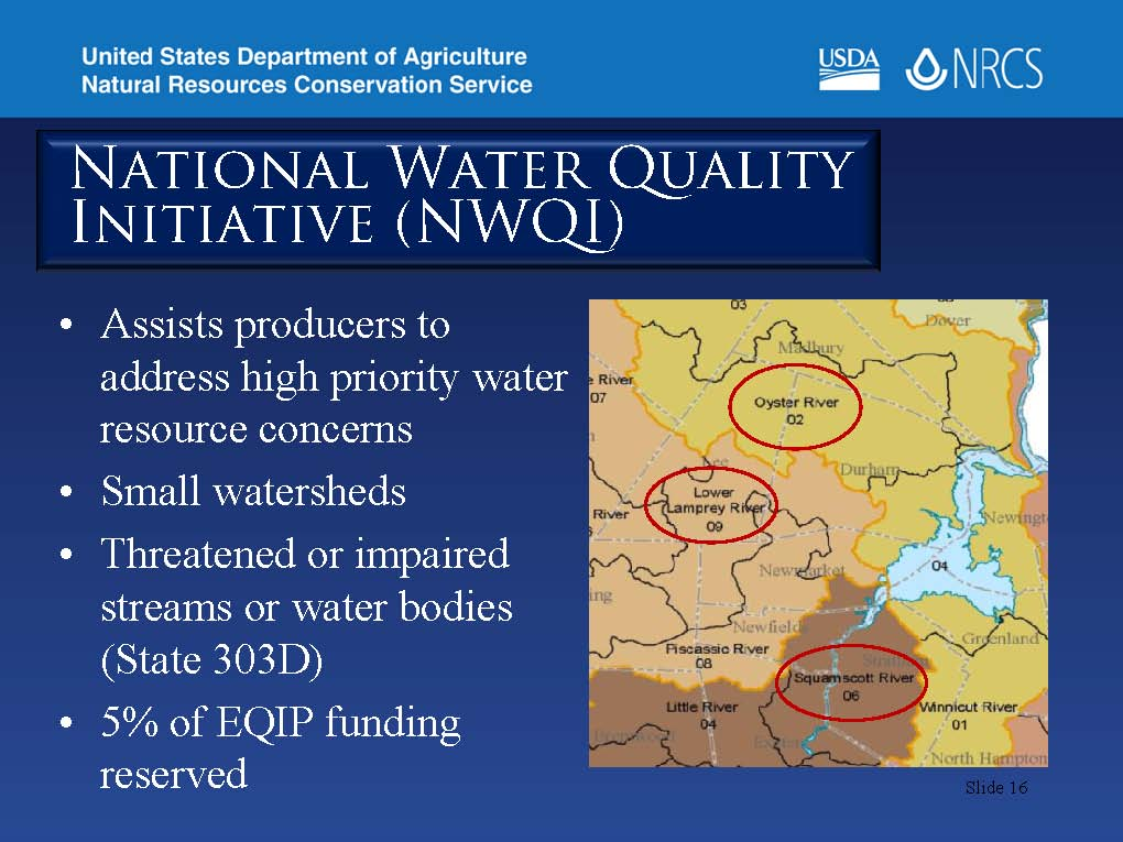 NH National Water Quality Initiative