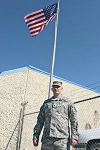 Earth Team Volunteer Sergeant John Crawson has served 2 tours during his 9 years of service.