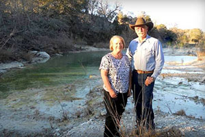 Dusty and Norma Bruns spent over 40 years working to conserve their piece of the Texas Hill Country.