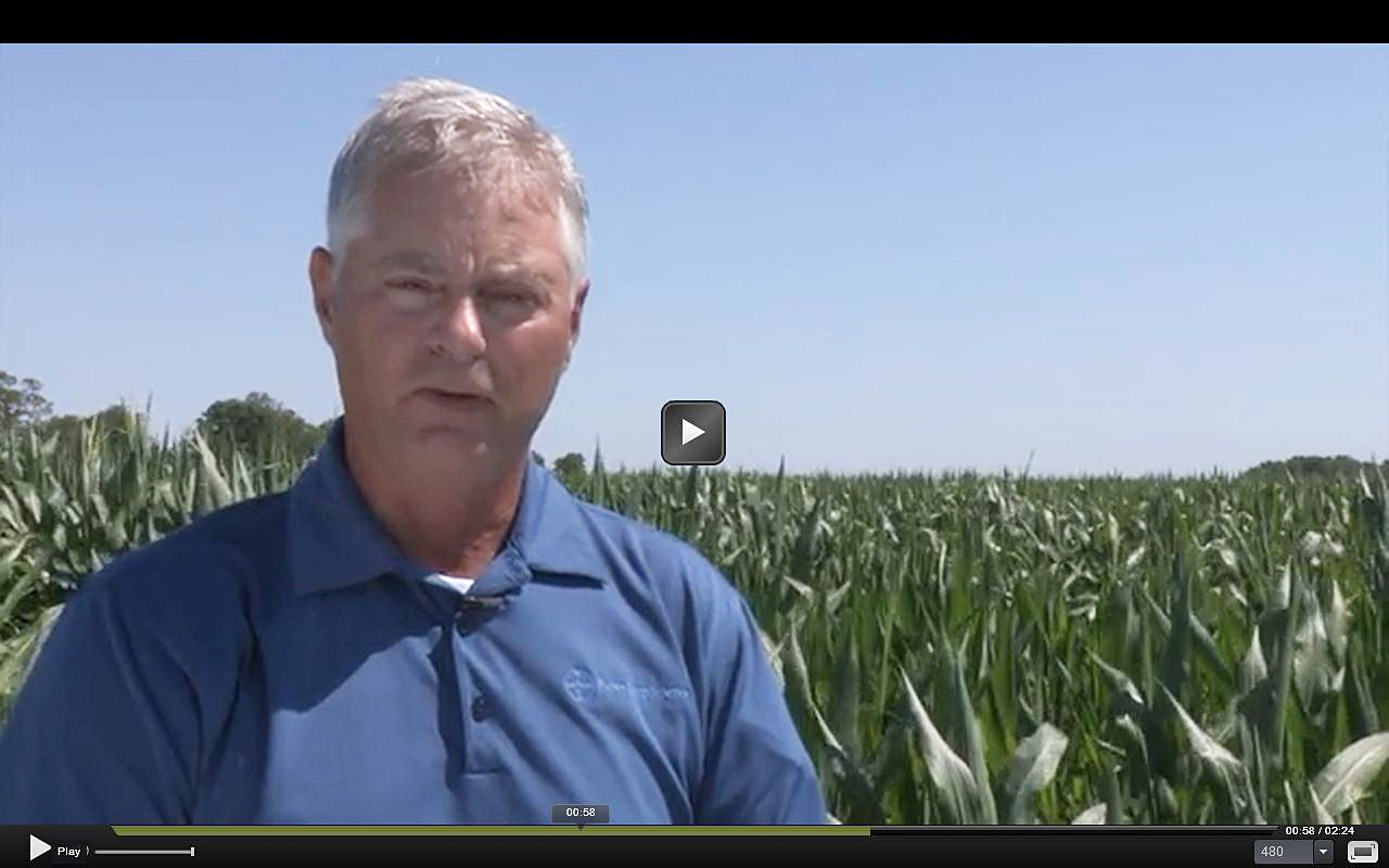 Indiana farmer Jack Maloney found that practicing conservation saved him time, money, labor and machinery.