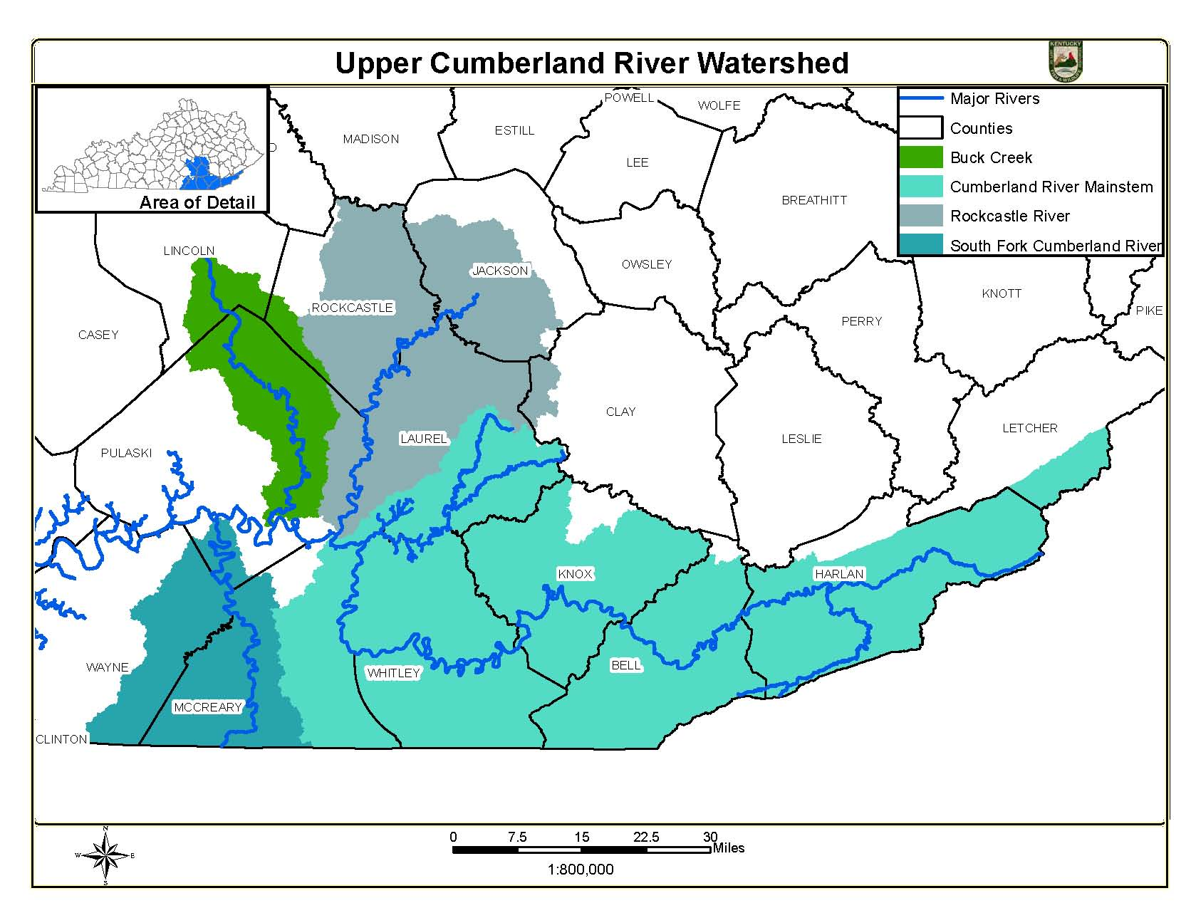 Upper Cumberland River Watershed