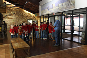 Station One – Tour of new visitors' center and history of Fort Chadbourne.