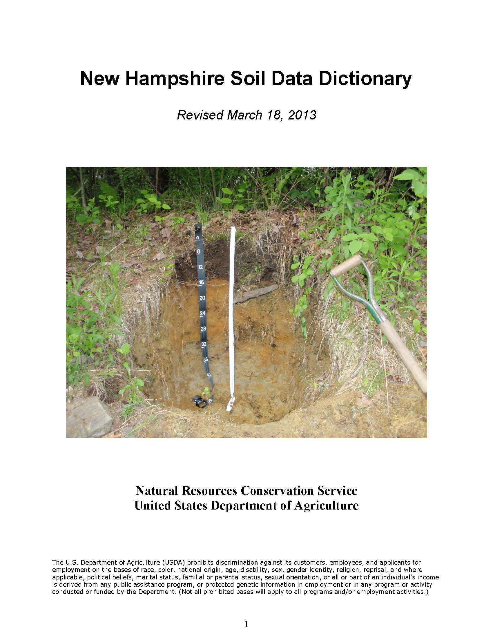 Soil Data Dictionary