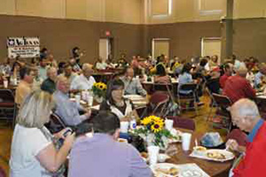 After the tour concluded, a banquet was held at the First Baptist Church to highlight the Outstanding Farm Family and Outstanding Young Farmer of the year award. The banquet was attended by over 300 local producers and business representatives.