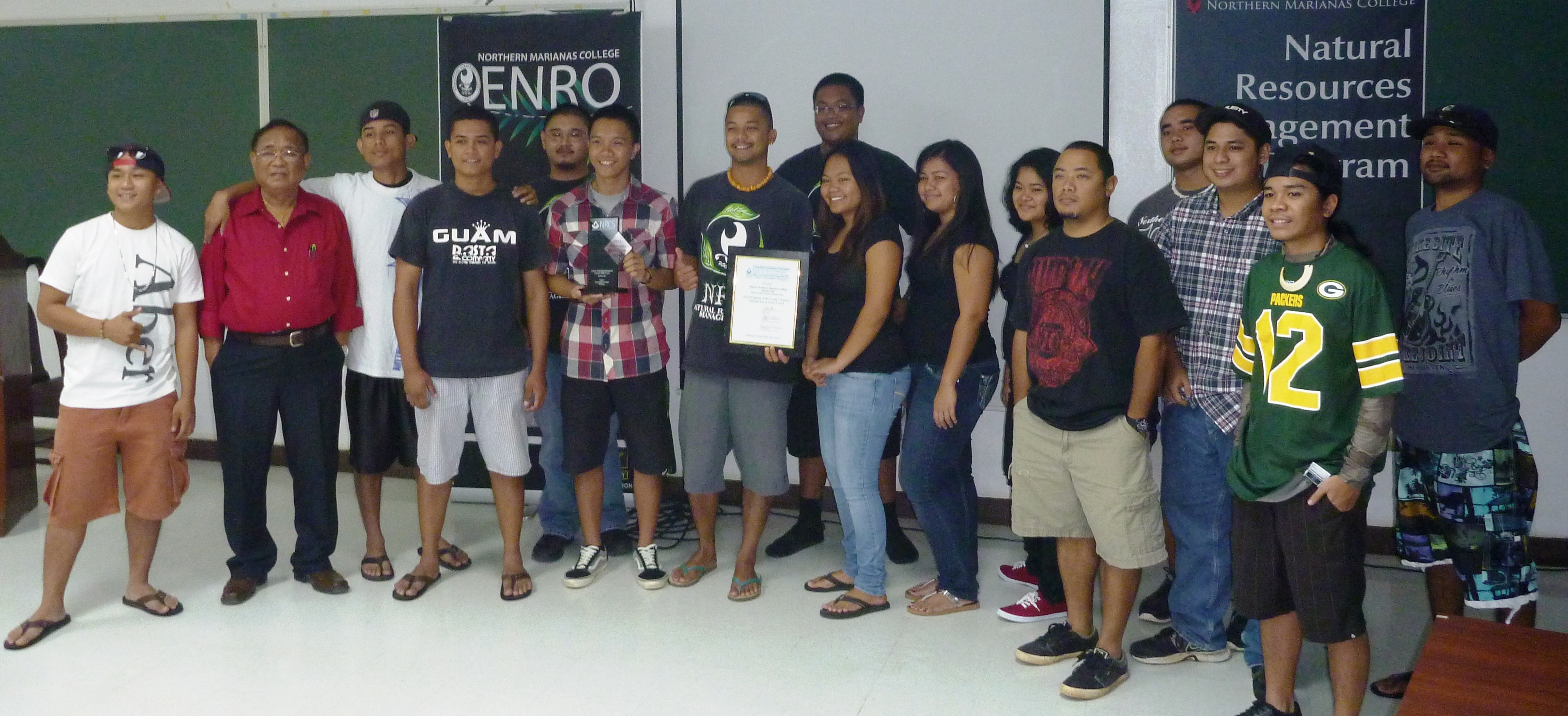 Guam Northern Marianas College ENRO Club