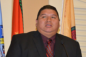 Kyle Williams, Tribal Council Chairman of the Alabama-Coushatta Tribe of Texas