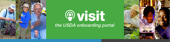 USDA Onboarding Portal Button