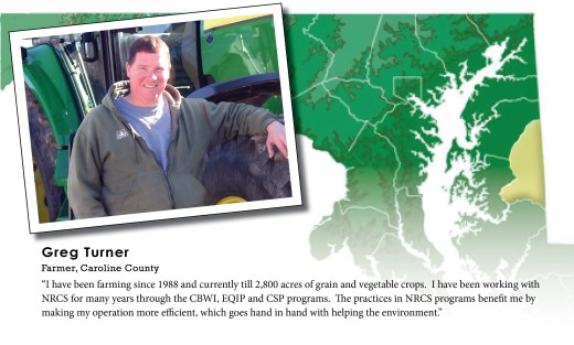 Greg Turner turns to NRCS programs