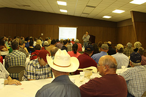 Ag Day sponsors hosted 415 people for lunch at the Cliff Style's Activity Center.