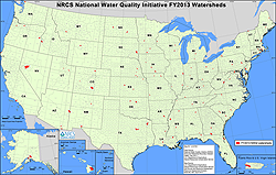 National Water Quality Initiative Map - 2013